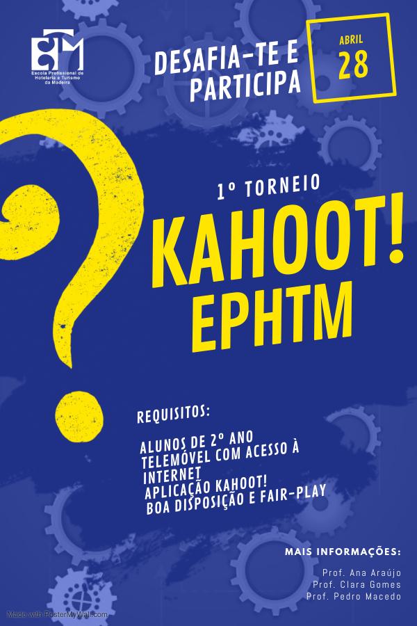 Torneio Kahoot EPHTM